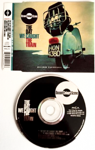 Ocean Colour Scene ‎- The Day We Caught The Train (CD Single Pt 1) (VG/EX)